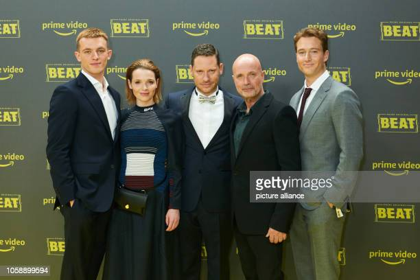 Jannis Niewöhner actor Karoline Herfurth actress Marco Kreuzpaintner director Christian Berkel actor and Alexander Fehling actor come to the premiere...