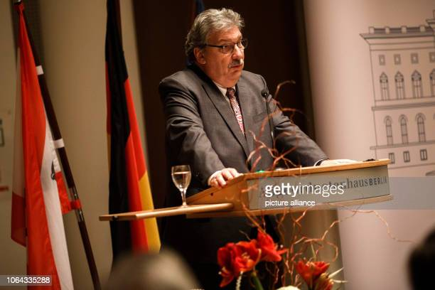 November 2018, Berlin: Ralf Wieland, President of the Berlin House of Representatives, speaks at the central naturalisation ceremony in the Berlin...