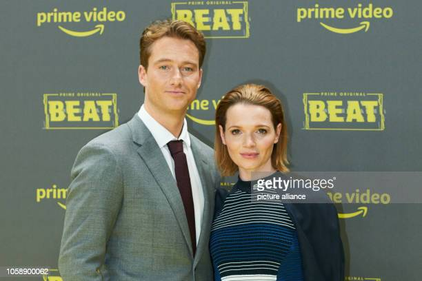 The actors Karoline Herfurth and Alexander Fehling at the premiere of the Amazon Prime series 'Beat' Niewöhner and Herfurth are the main actors Photo...