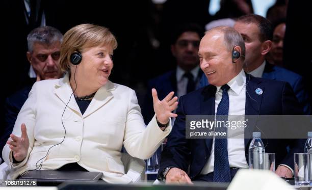 German Chancellor Angela Merkel and Russian President Vladimir Putin will take part in the Paris Peace Forum on the occasion of the 100th anniversary...