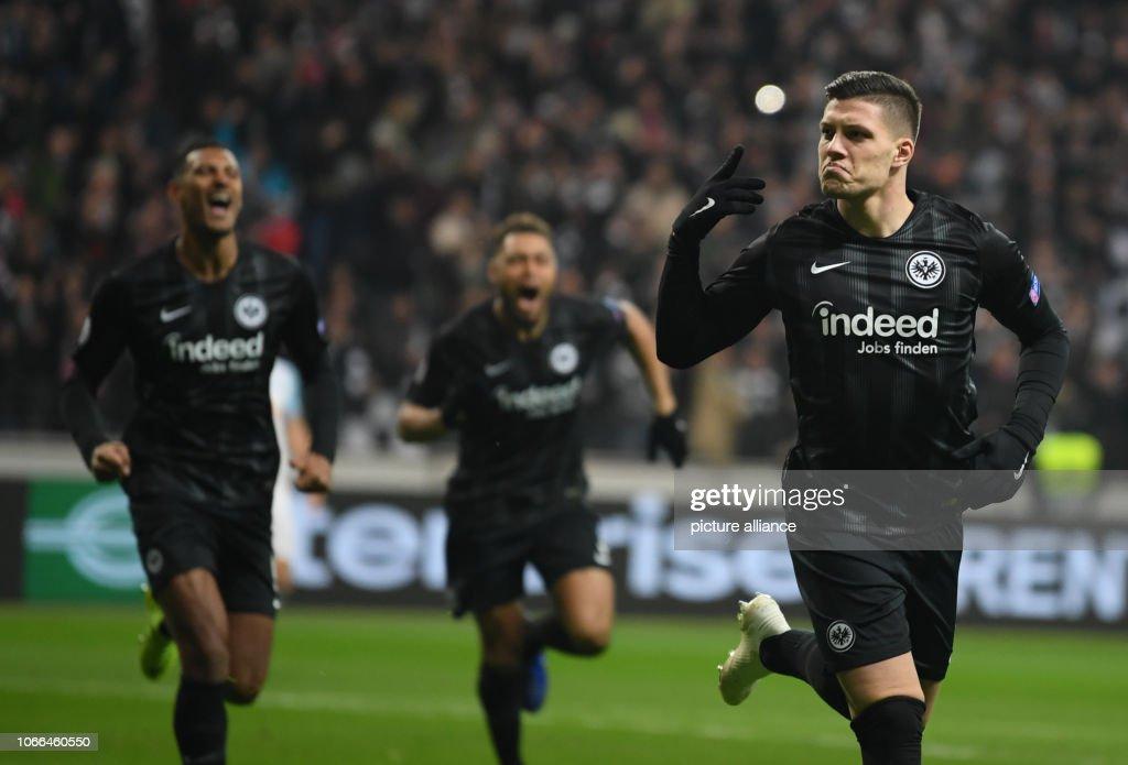 Eintracht Frankfurt - Olympique Marseille : News Photo