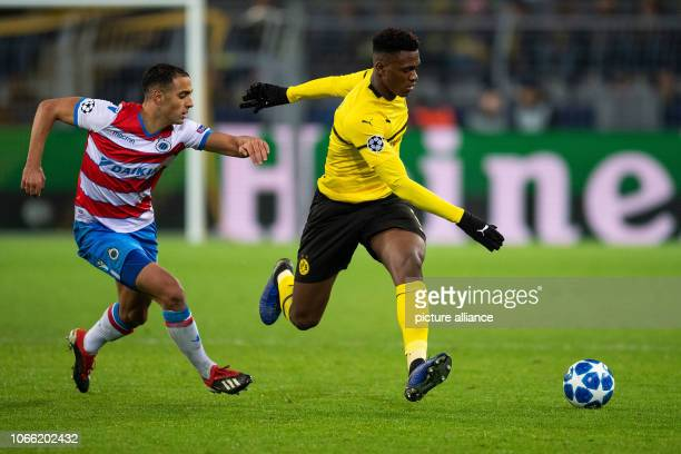 28 November 2018 North RhineWestphalia Dortmund Soccer Champions League Borussia Dortmund FC Bruges Group stage Group A 5th matchday at Signal Iduna...