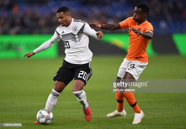 19 November 2018 North RhineWestphalia Gelsenkirchen Soccer Nations League A Germany Netherlands Group stage Group 1 6th matchday Jonathan Tah from...