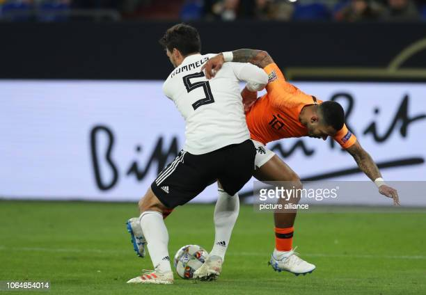 19 November 2018 North RhineWestphalia Gelsenkirchen Soccer Nations League A Germany Netherlands Group stage Group 1 6th matchday in the Veltins...