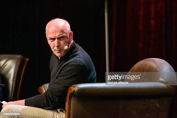 November 2018, Rhineland-Palatinate, Kaiserslautern: Mario Basler stands on the stage of the Kammgarn Cultural Centre. The former soccer player...