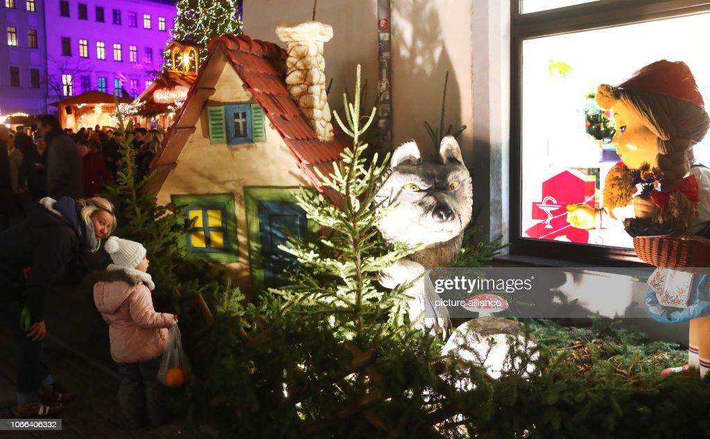 Christmas market : News Photo