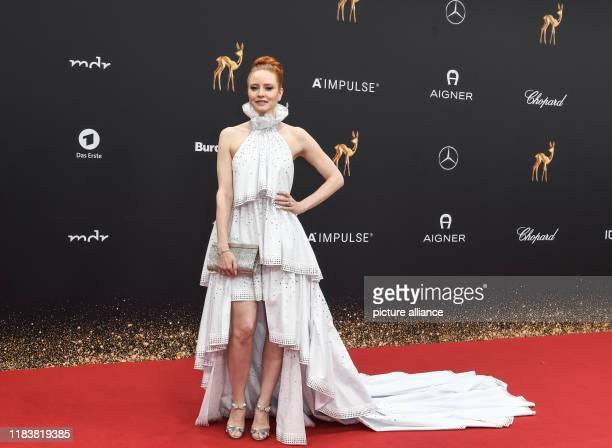 November 2019, Baden-Wuerttemberg, Baden-Baden: Barbara Meier comes to the 71st Bambi Awards in the Festspielhaus. The Bambi Media Prize has been...