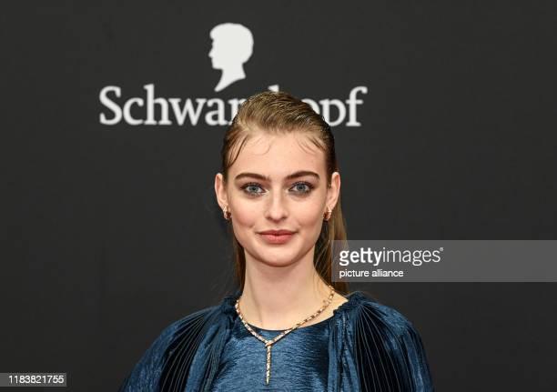 November 2019, Baden-Wuerttemberg, Baden-Baden: Berit Heitmann comes to the 71st Bambi Awards in the Festspielhaus. The Bambi Media Prize has been...