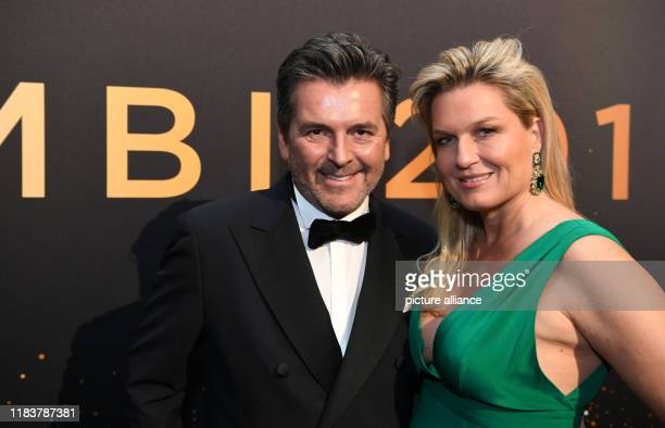 21 November 2019 BadenWuerttemberg BadenBaden Thomas Anders musician and his wife Claudia Hess come to the 71st Bambi Awards in the Festspielhaus The...