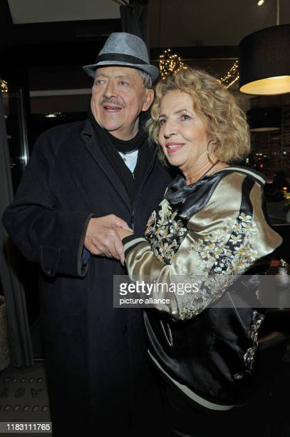 The actors Michaela May and Joseph Hannesschläger come to the premiere of their film Schmucklos Der Film at the RioFilmpalast The comedy and a homage...