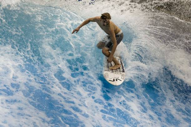 DEU: First Indoor Surf Facility In Berlin