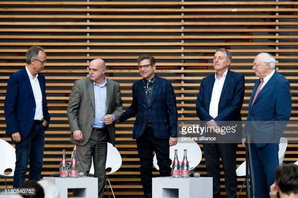 November 2019, Berlin: Ulrich Paul, then Spandauer Volksblatt, Heinz-Joachim Schoettes, then dpa Ostberlin, Frank Losensky, then ADN...