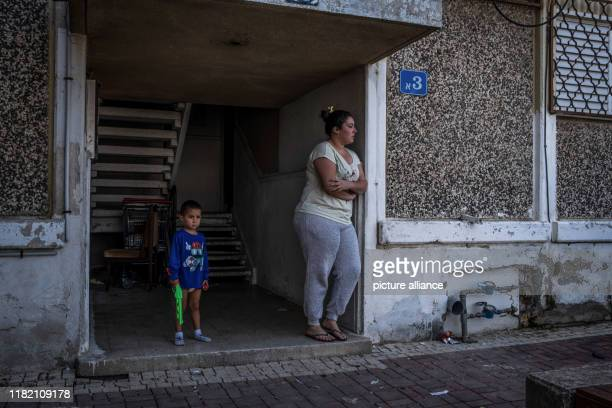 November 2019, Israel, Sderot: People seen on streets of Sderot. Israel and militants in the Gaza Strip exchanged fire for a second day, leaving 18...