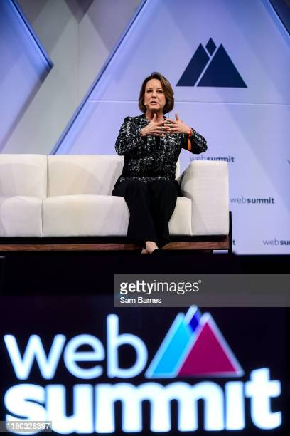 November 2019 Lori Fink Chief Legal Officer Xandr on binateio Stage during day two of Web Summit 2019 at the Altice Arena in Lisbon Portugal