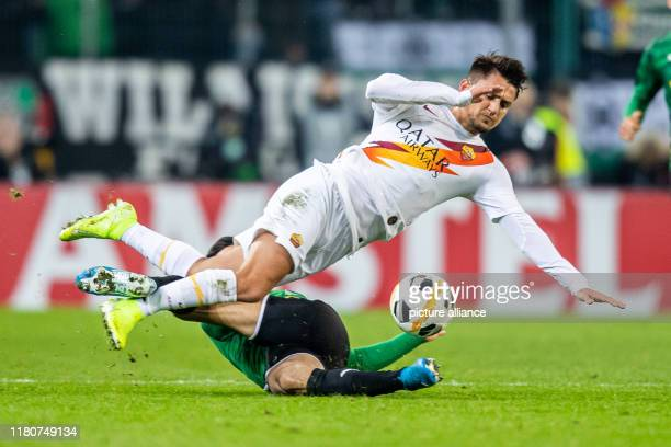 07 November 2019 North RhineWestphalia Mönchengladbach Soccer Europa League Bor Mönchengladbach AS Rome group phase group J 4th matchday in...