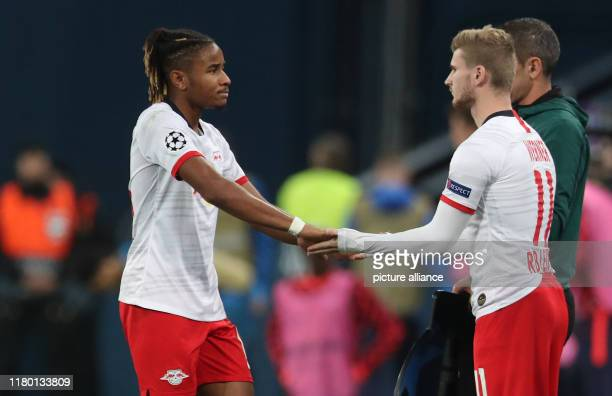 Soccer Champions League Group stage Group G Matchday 4 Zenit St Petersburg RB Leipzig in St Petersburg Stadium Substitution Leipzig's Timo Werner...