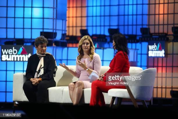 November 2019 Speakers from left Christiana Figueres Founding Partner Global Optimism Kate Brandt Google Sustainability Officer Google and Cheng Lei...