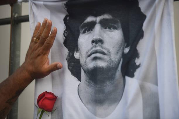 ARG: Diego Maradona - Mourning