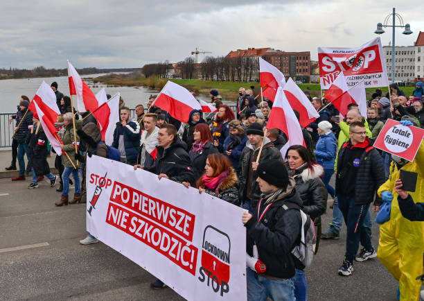 DEU: Demonstration Against Corona Measures