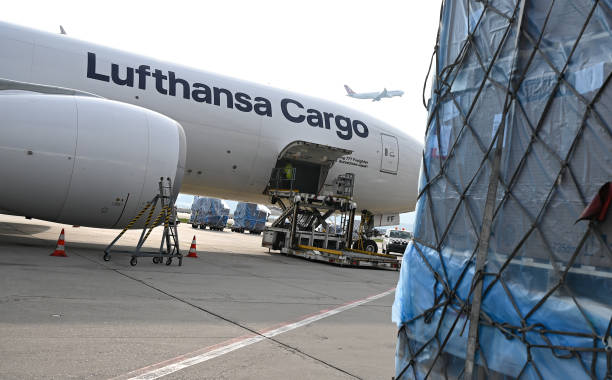 DEU: First Climate-Neutral Cargo Flight Takes Off From Frankfurt Airport