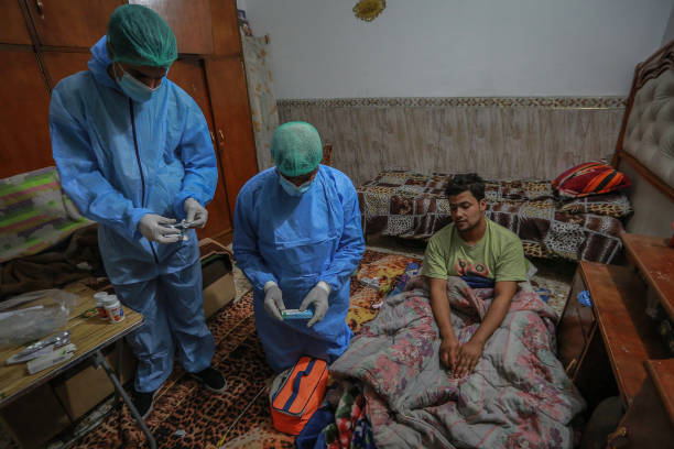 IRQ: House Call Visits For Coronavirus Patients In Iraq