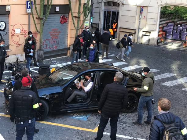 ITA: Tom Cruise - Shooting Of Mission Impossible in Rome
