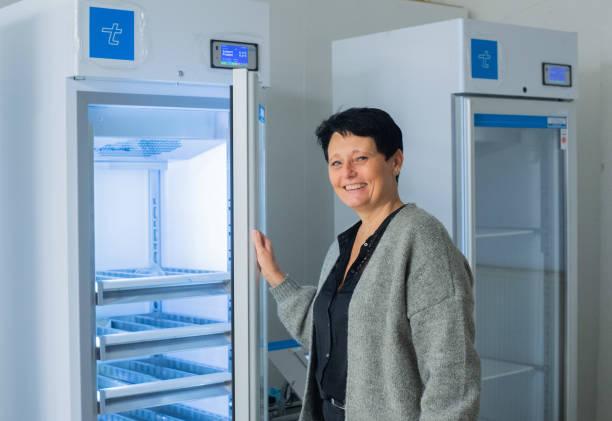 DEU: Coronavirus - Special Refrigerators For Vaccines