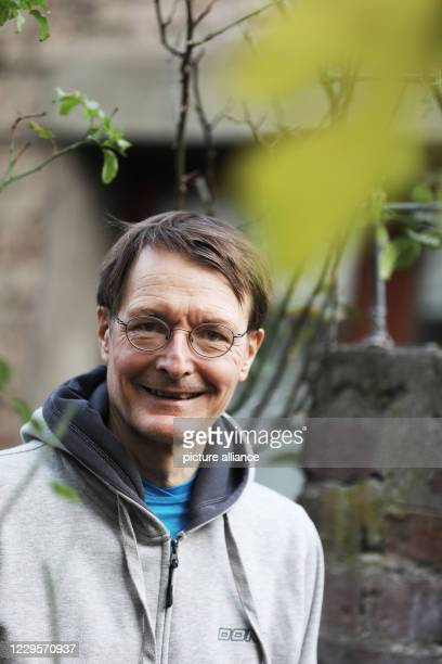 November 2020, North Rhine-Westphalia, Cologne: Karl Lauterbach, SPD health expert, stands in the garden. Lauterbach has taken on the role of...