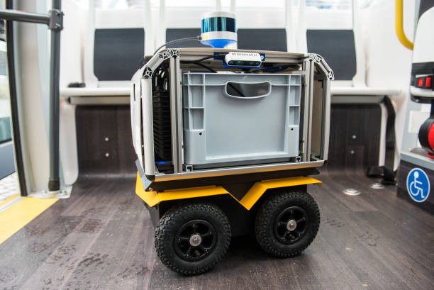 DEU: Transport Robots In Public Space