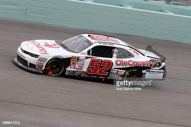 Joey Gase during the running of the Ford EcoBoost 300 at Homestead-Miami Speedway in Homestead, FL
