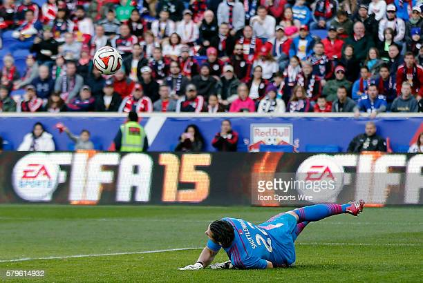 New England Revolution's Bobby Shuttleworth makes the save but can't contain the rebound The New England Revolution defeated the New York Red Bulls...