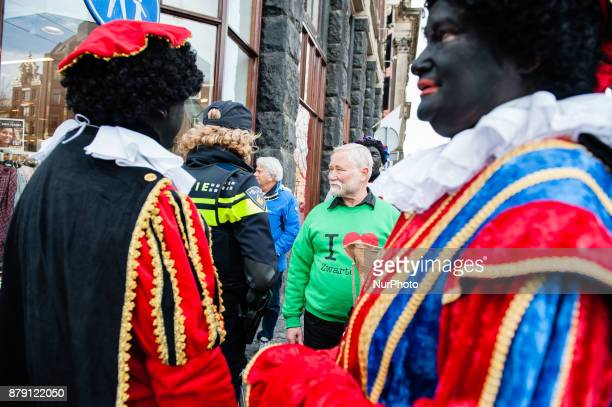 November 25th Amsterdam Patrick Mathurin who play this year again the new St Nicholas arrived on his boat with his helpers to start the party and the...