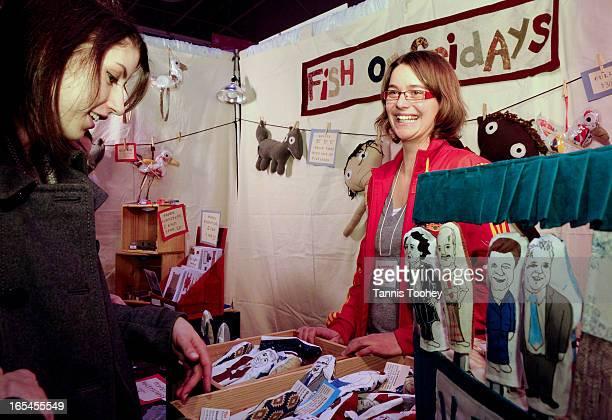 November 27 2010Puppet maker Gabe Thirlwall sells finger puppets of political figures like Rob Ford David Miller Stephen Harper Jack Layton Jim...