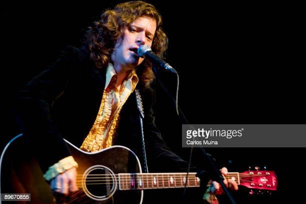 November 29 2008 Madrid Spain The singer Ted Russell Kamp in concert