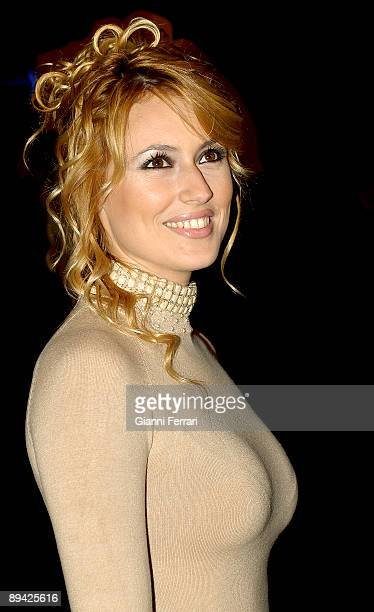 November 302006 Kinepolis Madrid The actress Carolina Cerezuela in the premiere of the movie of Antonio Banderas The road of the English