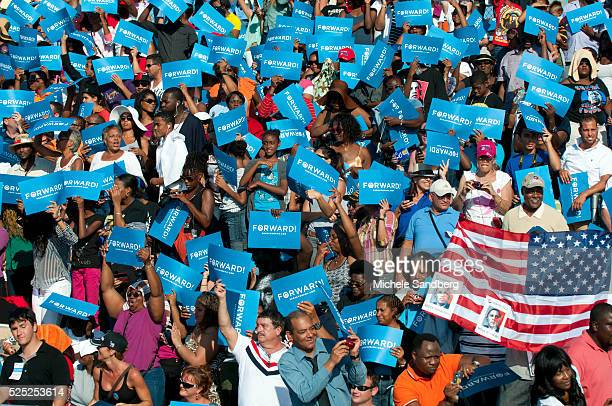 November 4 2012 President Obama Campaigns At Grassroots Event In Hollywood