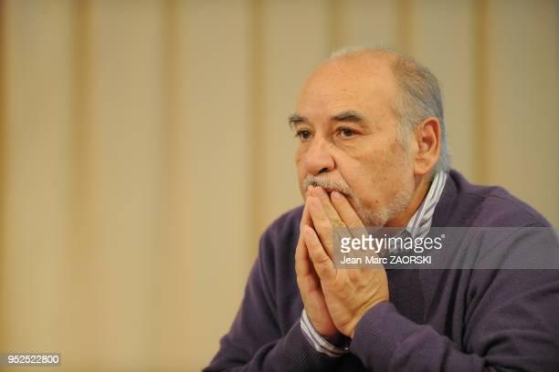 Tahar Ben Jelloun during the Brive Book Fair on november 2010