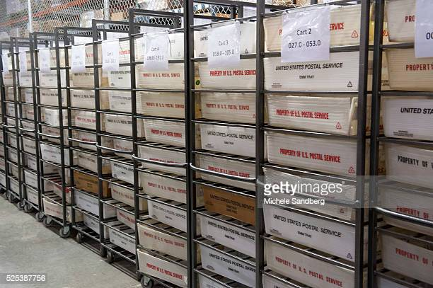 November 6 2012 ALL THE ABSENTEE BALLOTS FOR ALL OF MIAMI ORGANIZED AND STORED IN BINS AT THE FACILITY MIAMIDADE COUNTY ELECTIONS DEPARTMENT ELECTION...