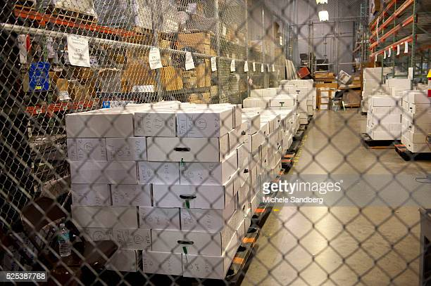 November 6 2012 ALL THE ABSENTEE BALLOTS FOR ALL OF MIAMI ORGANIZED AND STORED IN BOXES AT THE FACILITY MIAMIDADE COUNTY ELECTIONS DEPARTMENT...