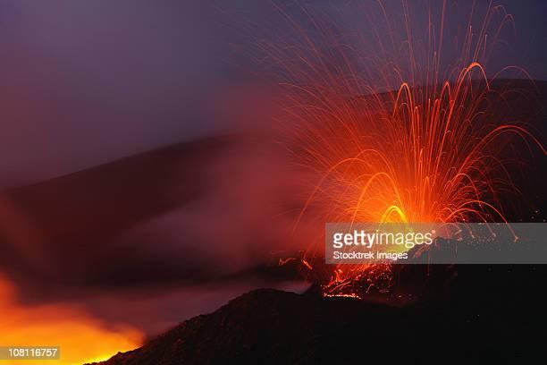 November 7, 2006 - Mount Etna eruption, Sicily, Italy.