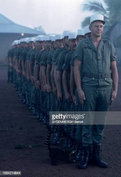 Novembre 1983 Le 3ème REI de la Légion étrangère en Guyane française