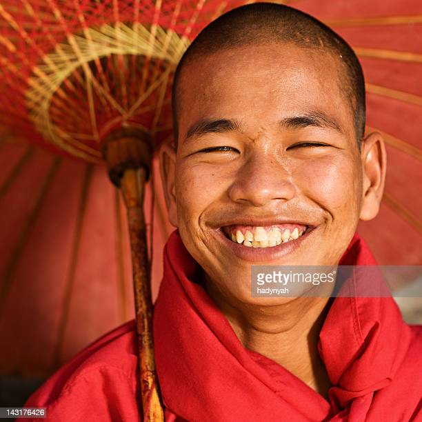 Novice Buddhist monk, Myanmar