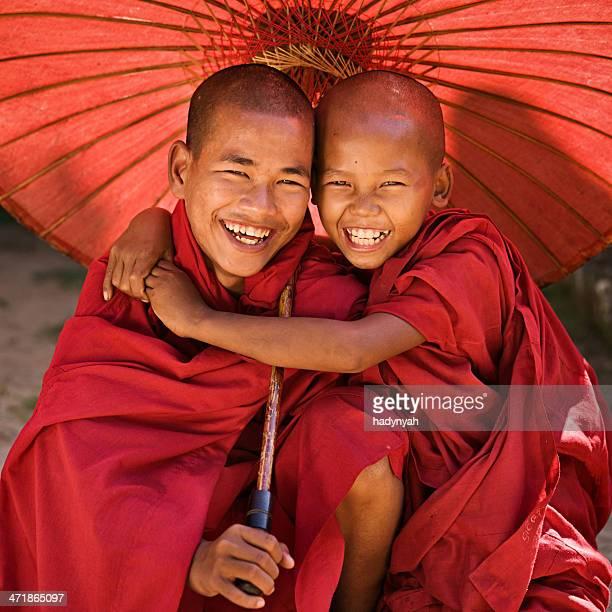 Buddhistischer Buddhistische Mönche, Myanmar