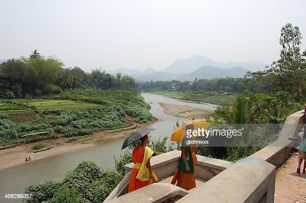 Buddhistischer Mönche Luang Prabang, Laos