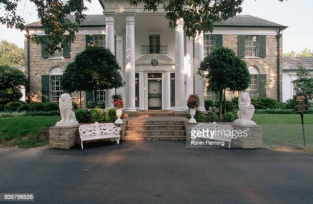 Now a tourist attraction Graceland was Elvis Presley's home from 1957 until his death Memphis Tennessee