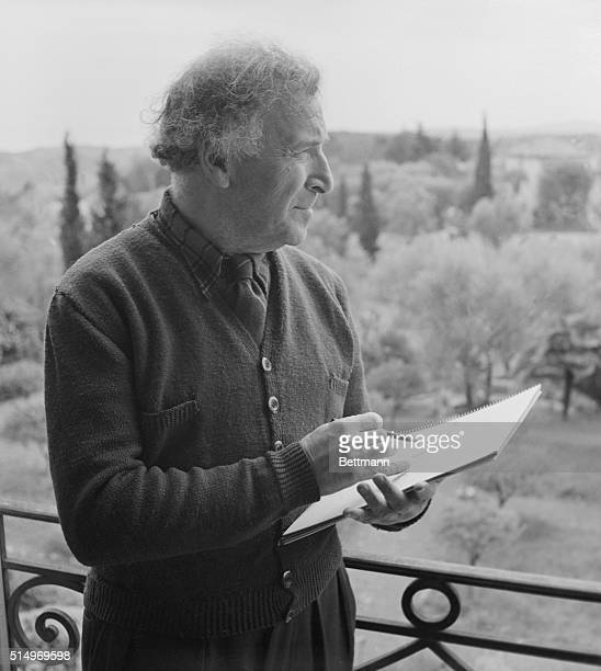 """Now also living in Vence is Marc Chagall, a famous French Modernist, who came to the Riviera only seven months ago. """"The lovely light, it is a..."""