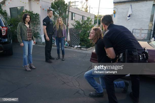 THE ROOKIE Now and Then Lucy returns to duty after her abduction and Harper steps in to help her through her first day back on patrol Meanwhile Nolan...