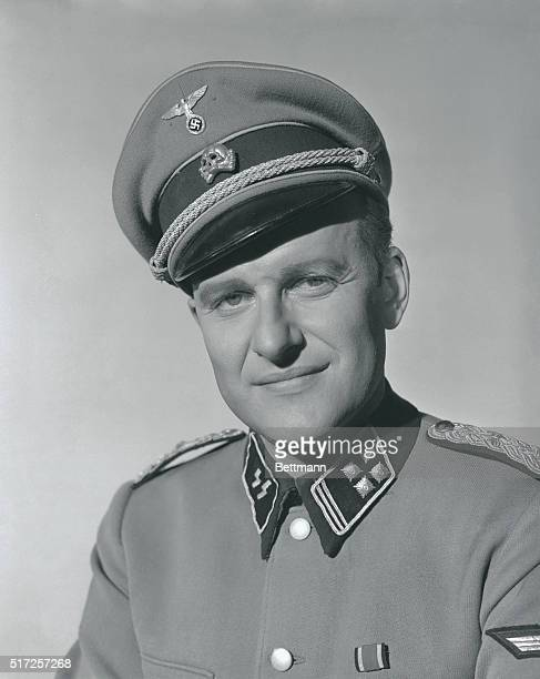 Now being hailed as Hollywood's bravest actor for agreeing to portray Nazi leader Adolf Eichmann on the screen, Werner Klemperer wears the Nazi...