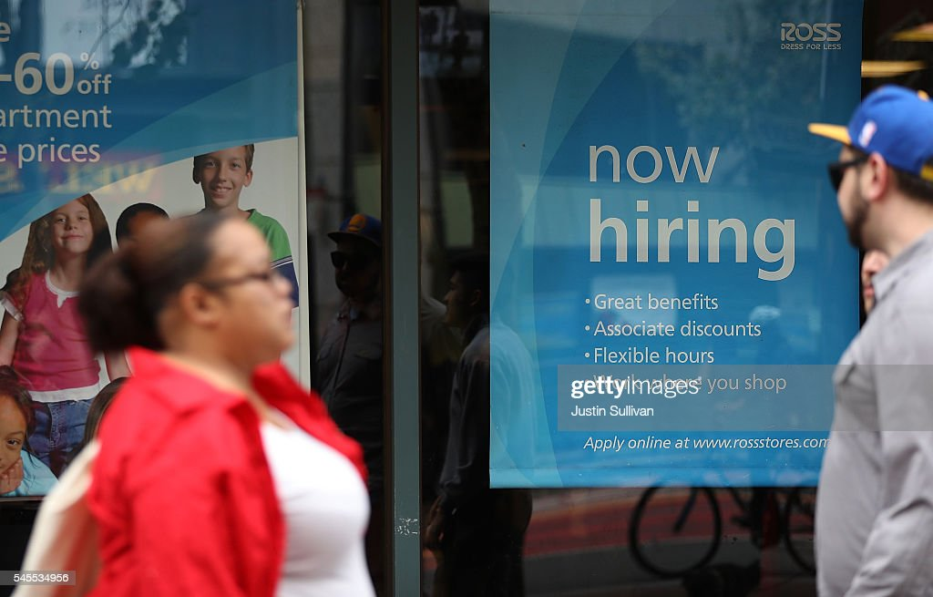 Employment Growth Surges In June To 287,000 Jobs : News Photo