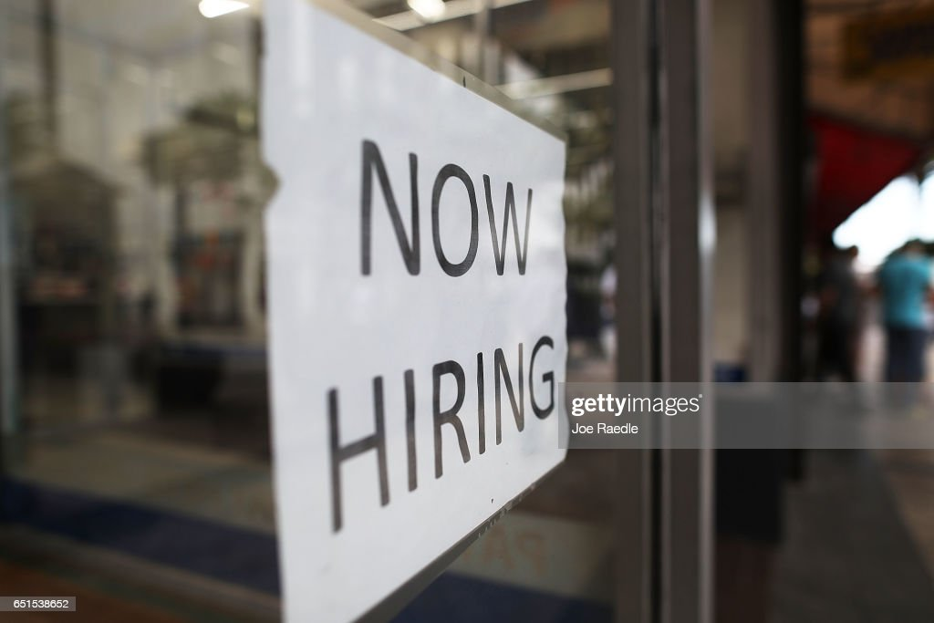 Job Growth Spurs Drop In Unemployment Rate To 4.7 Percent : News Photo
